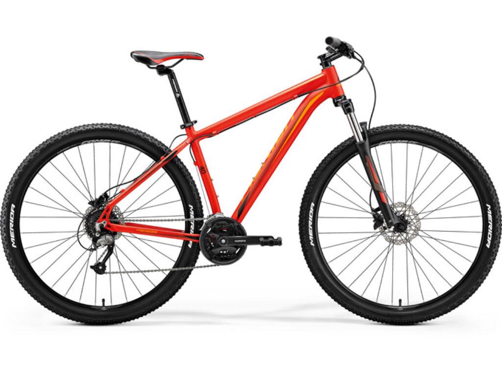 e15013e64813 MERIDA BIG NINE 40 2018 PIROS - MTB 29 FÉRFI - Pedál Kerékpár