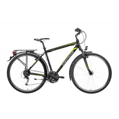 GEPIDA ALBOIN 200 PRO 2020 FEKETEtrekking kerékpár