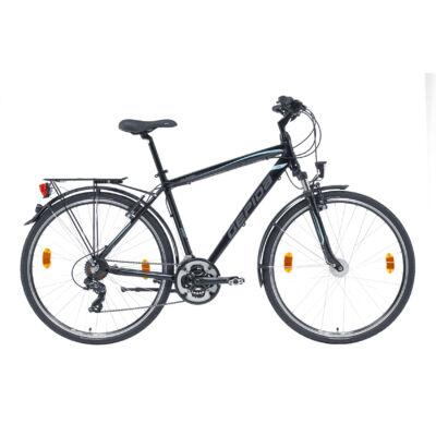 GEPIDA ALBOIN 200 FEKETE(VILÁGOSKÉK) trekking kerékpár