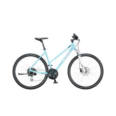 KTM LIFE TRACK  NŐI aqua (moon+eveblue) 2020 cross trekking kerékpár