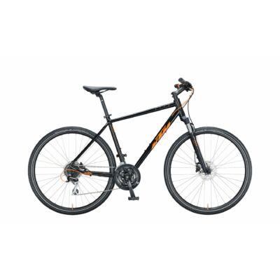 KTM LIFE TRACK FÉRFI MET BLACK (ORANGE)  2021 cross trekking kerékpár