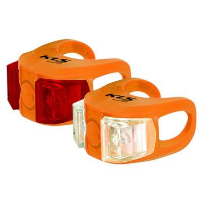 Lámpa szett KLS TWINS, narancssárga